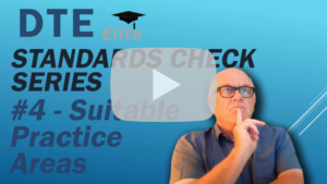 driving instructor standards check suitable practice areas