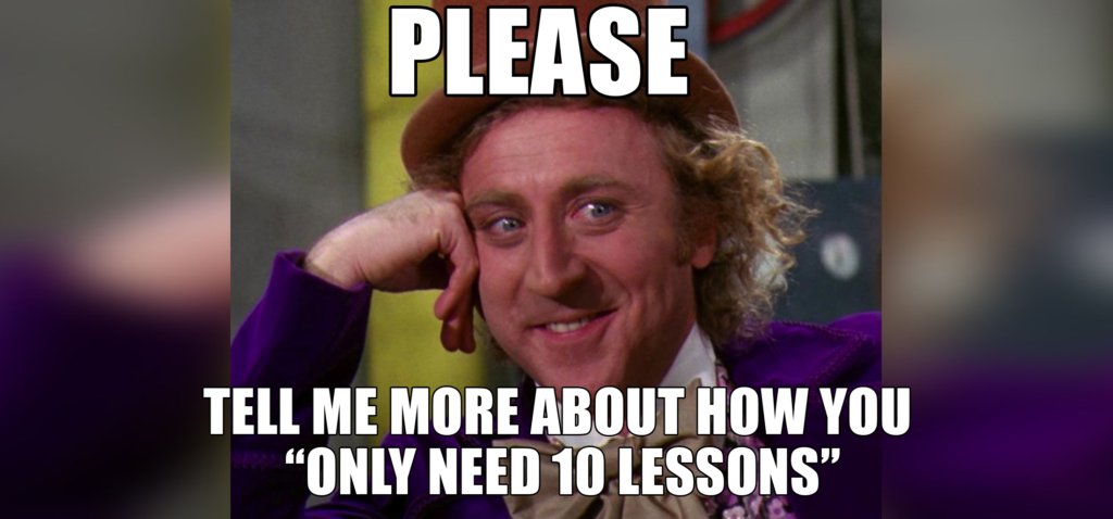 condescending wonka driving lessons