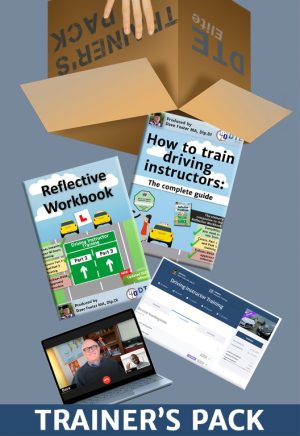 driving instructor training pack
