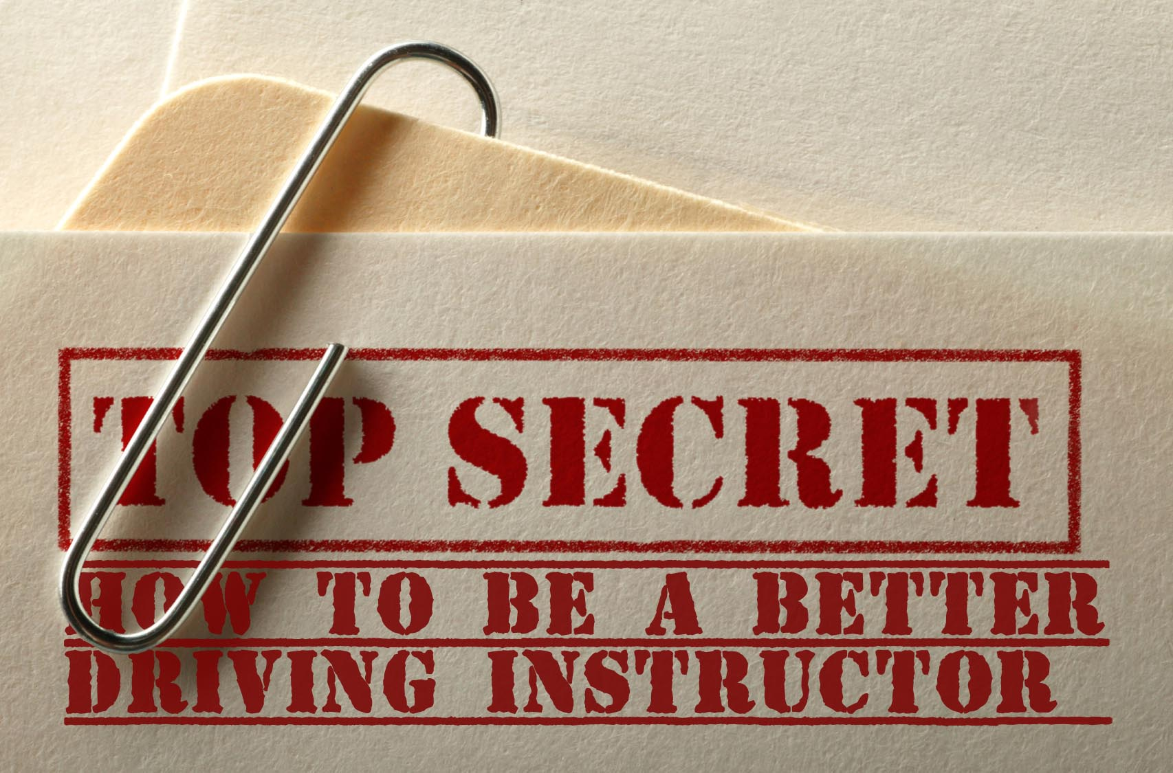 how to be a better driving instructor